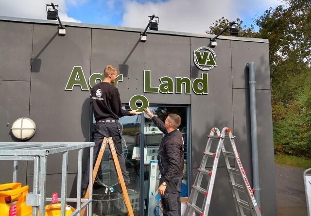 Logoet for Agroland er på plads