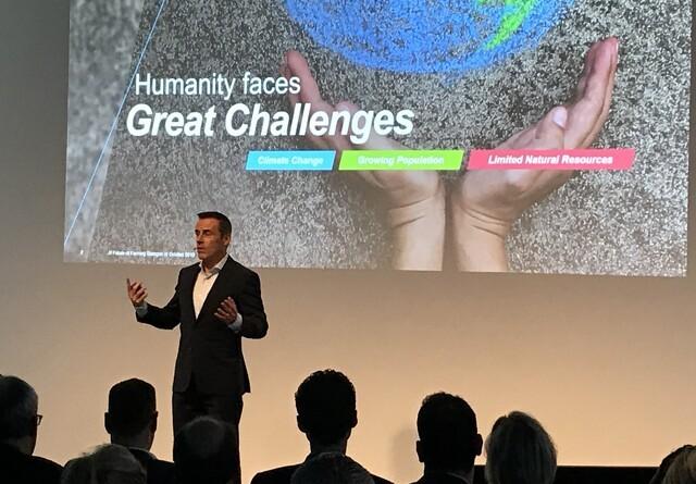 Bayer forpligter sig til at skabe bæredygtigt fødevaresystem