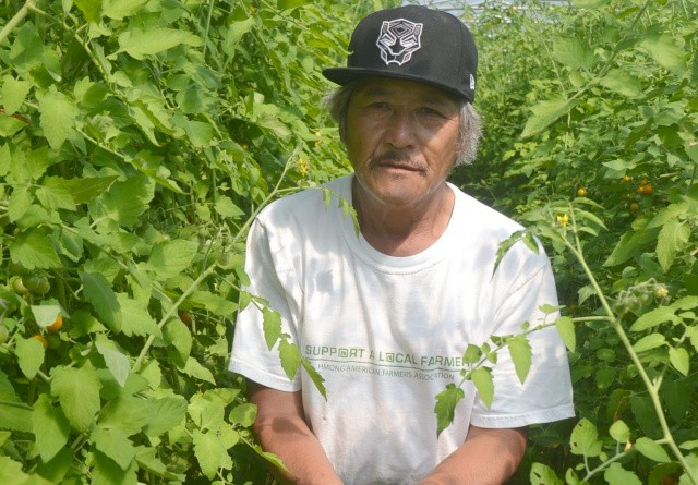 Flygtninge landmænd producerer frugt og grøntsager