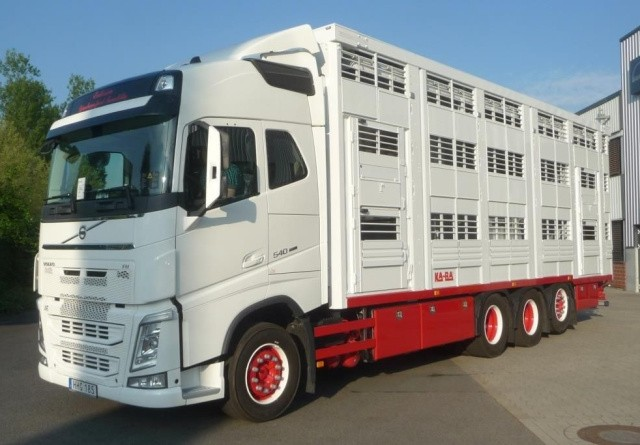 Ny dyretransportfirma på det danske marked