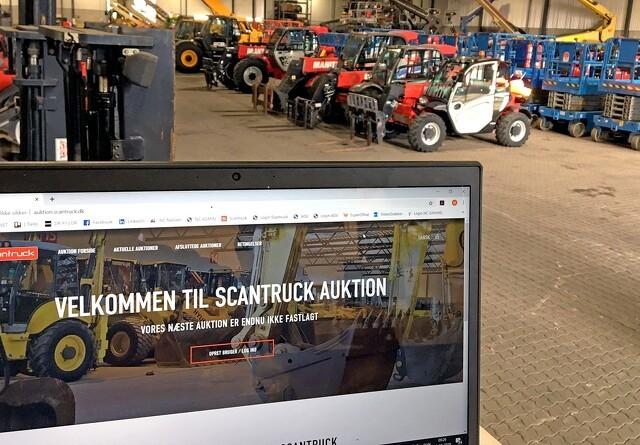 Scantruck svinger hammeren online