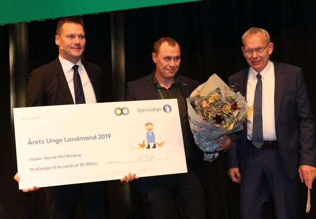 Henrik Pihl Winterø vinder prisen