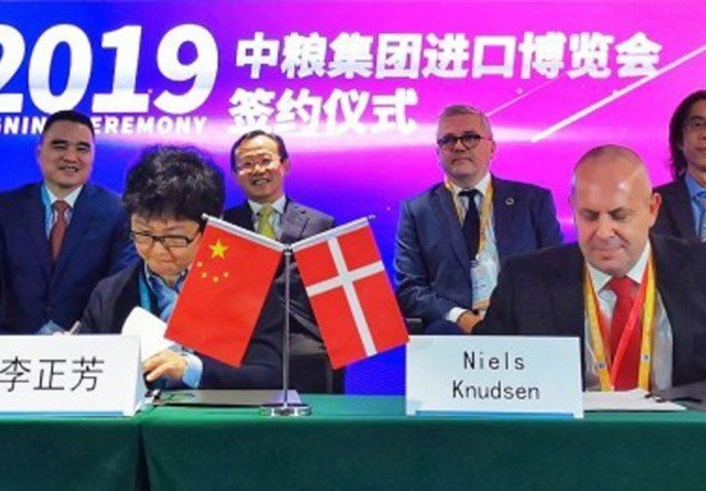 Danish Crown indgår kæmpeaftale i Kina