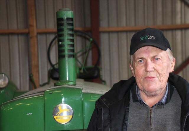 Der er sjældne perler blandt Oles 70 veterantraktorer