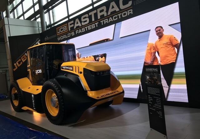 Verdens hurtigste traktor i Guinness rekordbog
