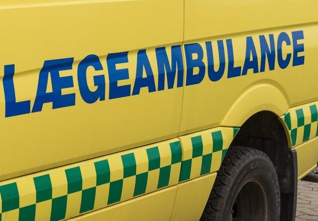 Traktorulykke på Djursland
