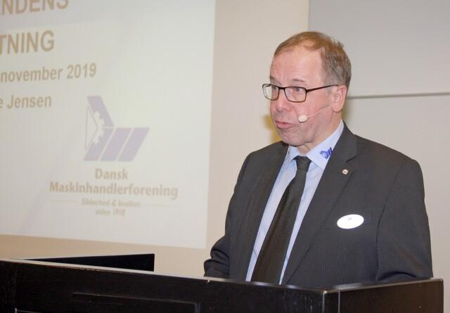 Stabilt medlemstal i Dansk Maskinhandlerforening