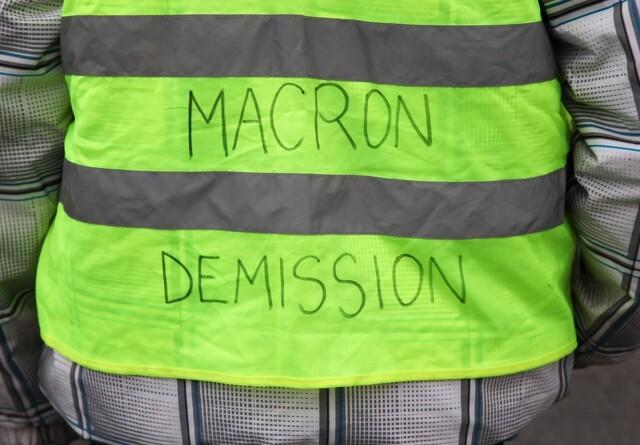 Macron får besøg