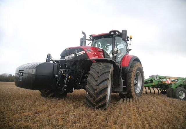 Fremgang i traktorsalget