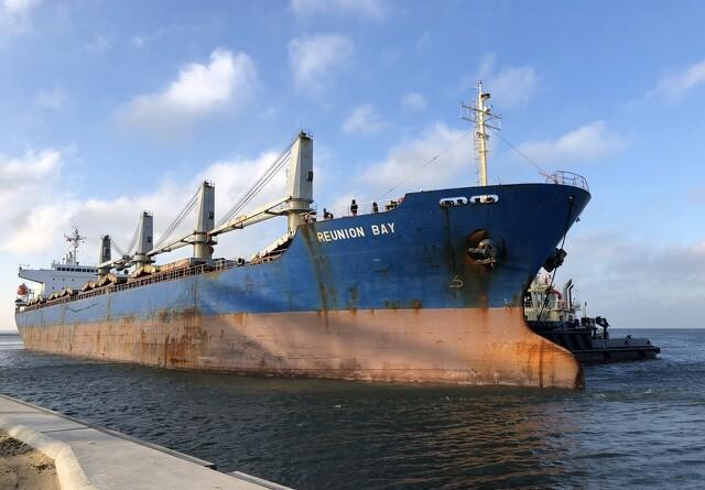 30.000 tons dansk korn på vej til Spanien