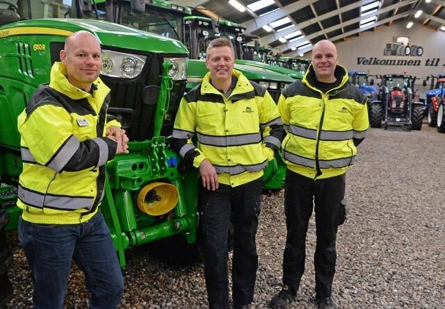 Tusinder vil se på traktorer