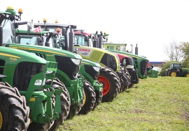 Traktor-demonstration skal møde minister
