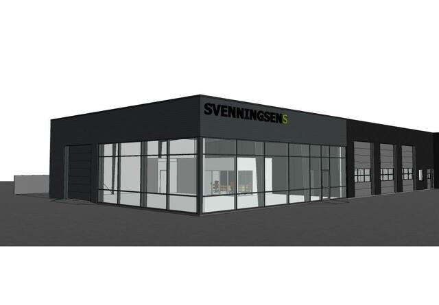 Maskinforretning bygger nyt i Viby
