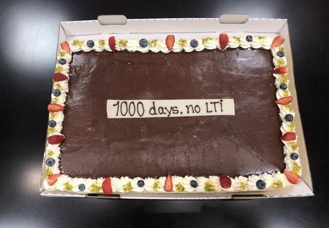 Proteinvirksomhed runder milepæl - 1000 dage uden arbejdsulykker