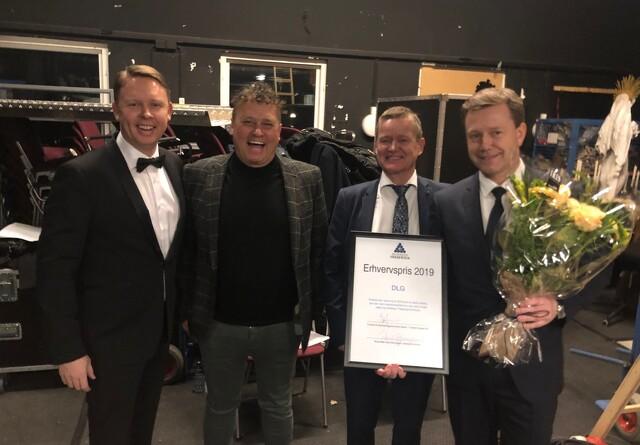 DLG modtager erhvervspris for at flytte til Fredericia