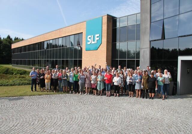 Medarbejderne trives i stor stil hos SLF