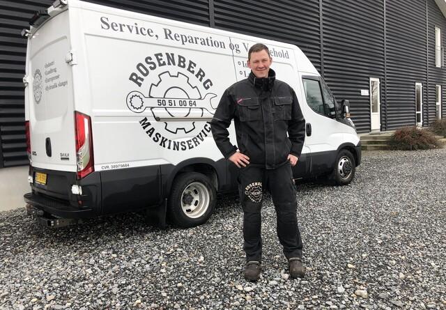 Serviceaftale mellem HCP og Rosenberg