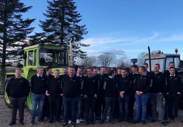 Nye jordbrugsmaskinførere fra Århus