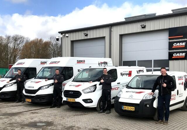 Nyt serviceteam klar hos S.D. Kjærsgaard