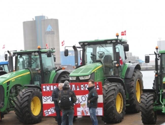 Fødevareminister lyttede til nordjysk traktordemonstration