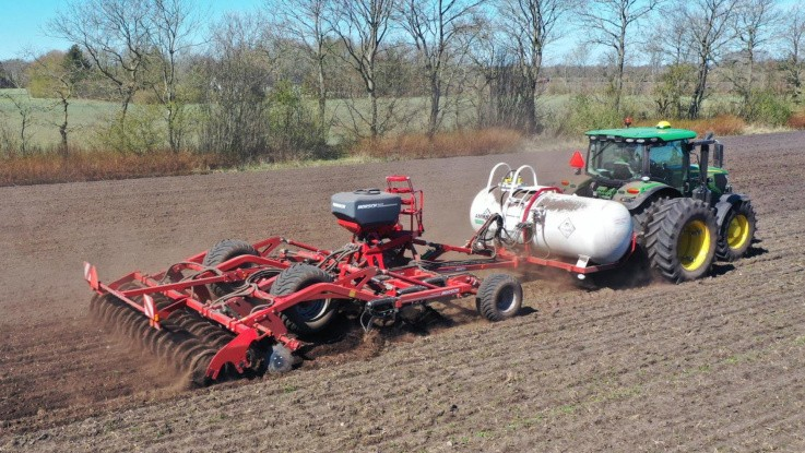Ammoniak sikrer N-forsyning i kartofler og vårbyg