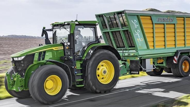 John Deere lancerer ny 7R-topmodel