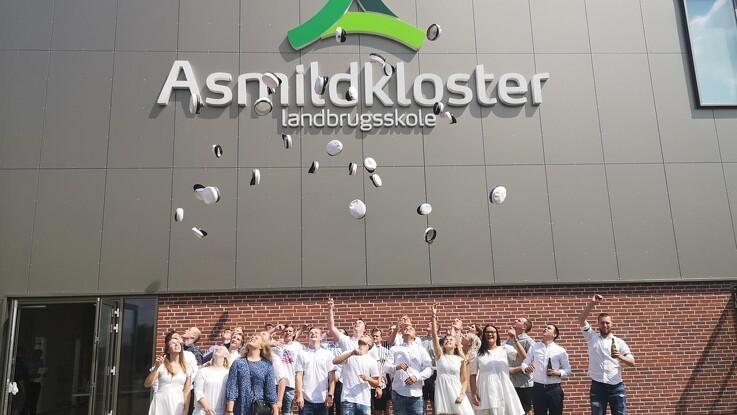 HF-dimittender fra Asmildkloster Landbrugsskole