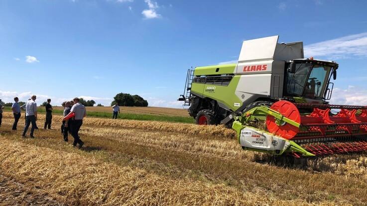 Claas gør klar til dansk demo-høst