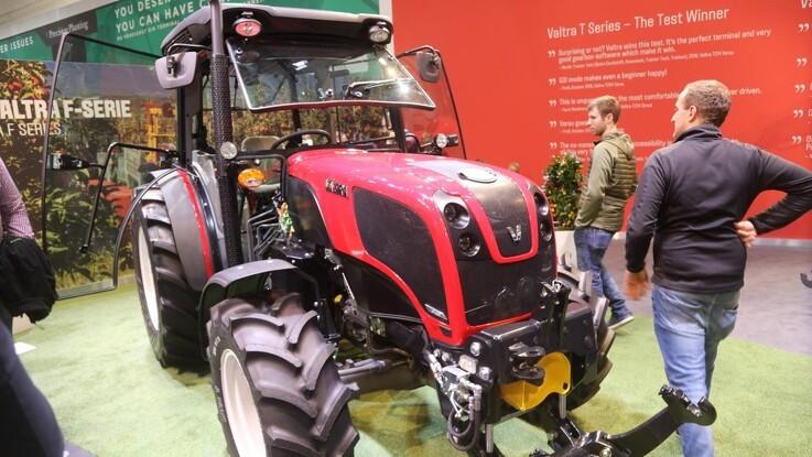 Valtra vil afsløre ny traktorserie live