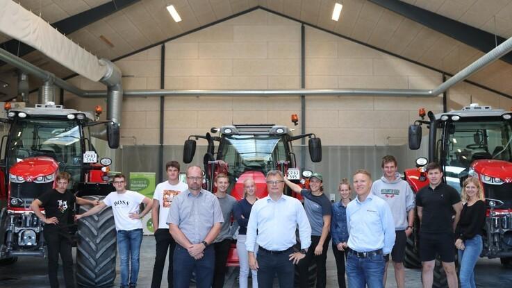 Landbrugselever får gear fra MF´s øverste hylde