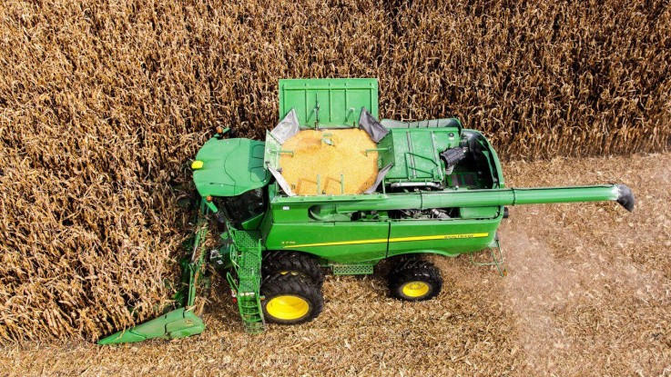 Kina har det senste døgn ikke importeret majs og soja