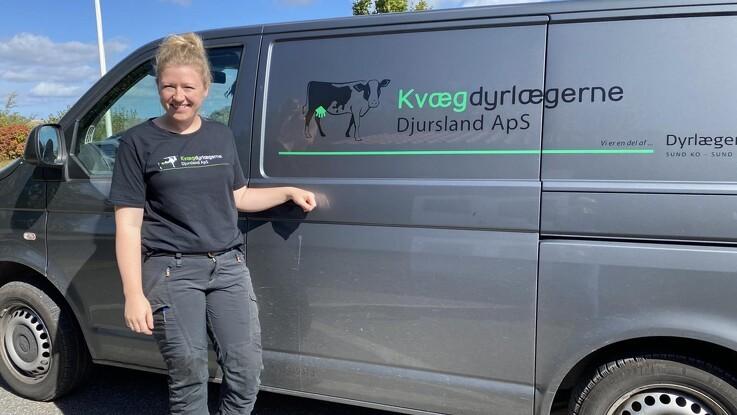 Kvægdyrlægerne Djursland flytter ind på landbocentret