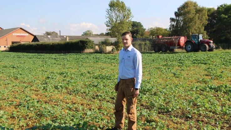 Samarbejder om landbrugsdriften giver Peter Kiær overskud til politisk arbejde