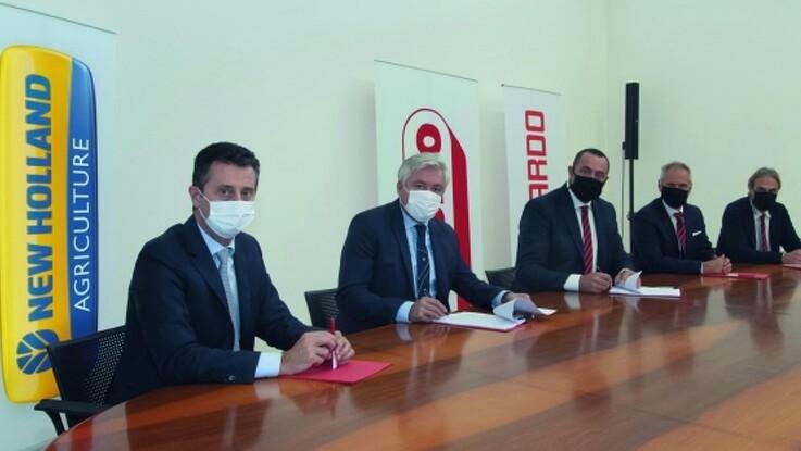 New Holland Agriculture underskriver eksklusiv leveringsaftale med Maschio Gaspardo