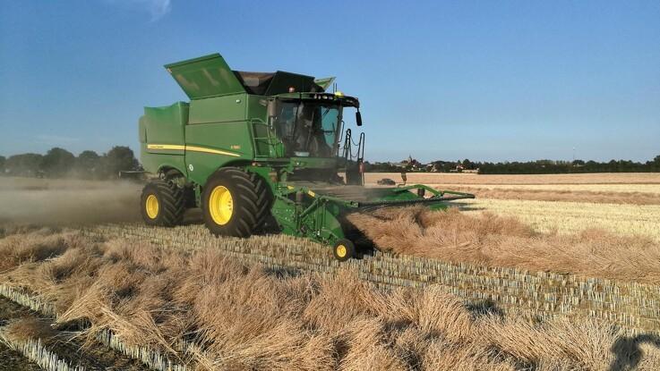 Rotormaskine leverer flot færdigvare i specialafgrøder