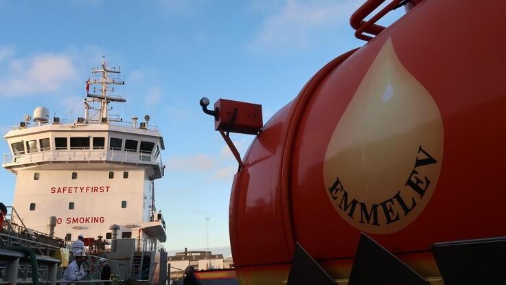 For første gang i Skandinavien: Skib tanket med dansk biodiesel
