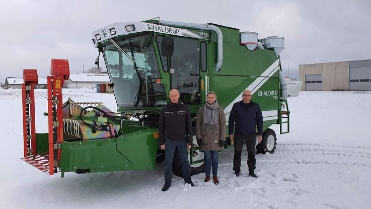 LandboNord investerer i ny forsøgsmejetærsker