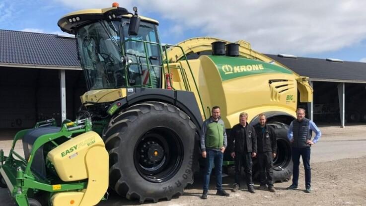 Fem Krone-maskiner til Rostgaard