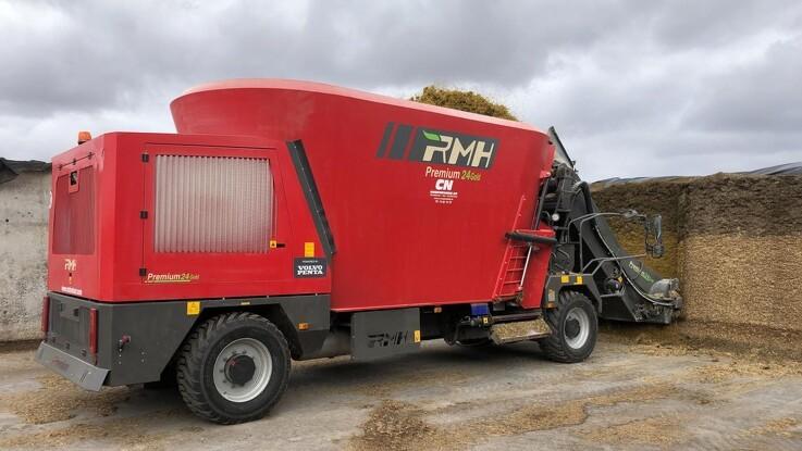 Selvkørende fuldfodervogn betyder besparelser i tid og brændstof