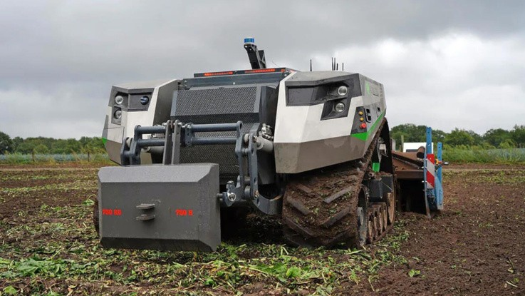 Tysk og hollandsk robotsamarbejde