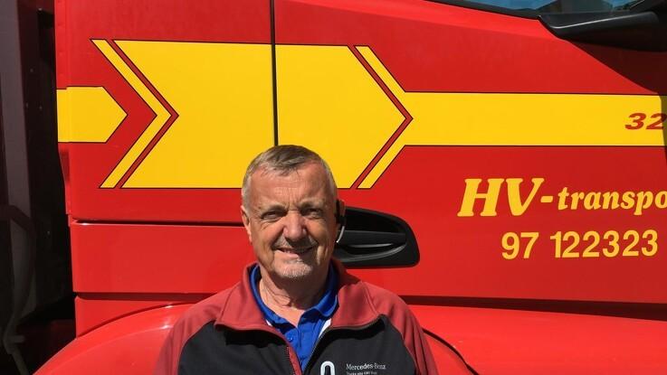 Danmarks første biogasdrevne 50-tons lastbil