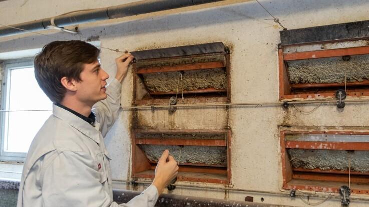 Store varmeforskelle i svinestalden: Tjek luftstrømmen og få sundere dyr