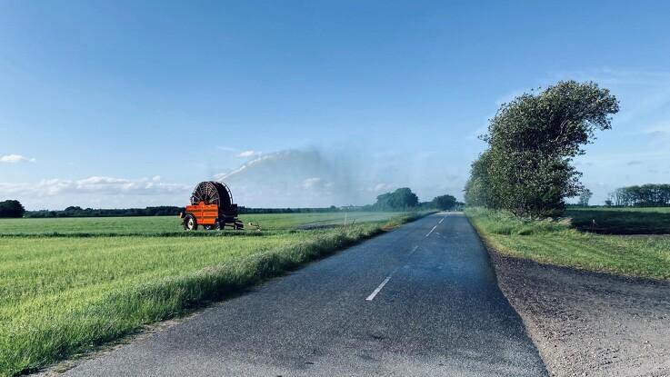 Sagro: Vand på vejen er farligt og kan koste dyrt