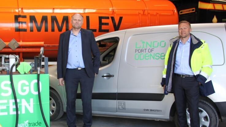 Fynsk biodiesel til biler på havnen