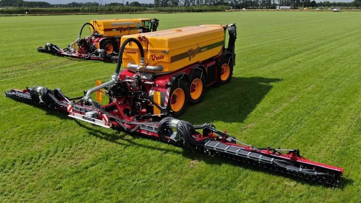 Op til 18 meters arbejdsbredde i ny græsmarknedfælder
