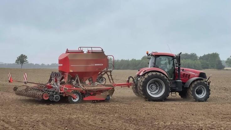 Video: Horsch Singular-teknik skal sikre optimal start for verdensrekord-hvede