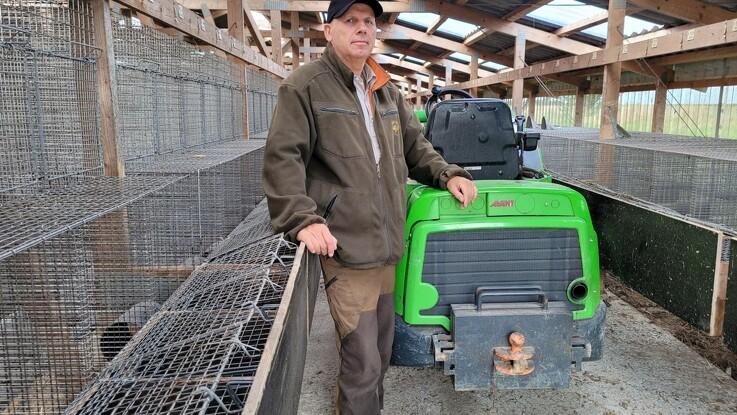 Erik ville redde mink til forskning - mister 500.000 kroner