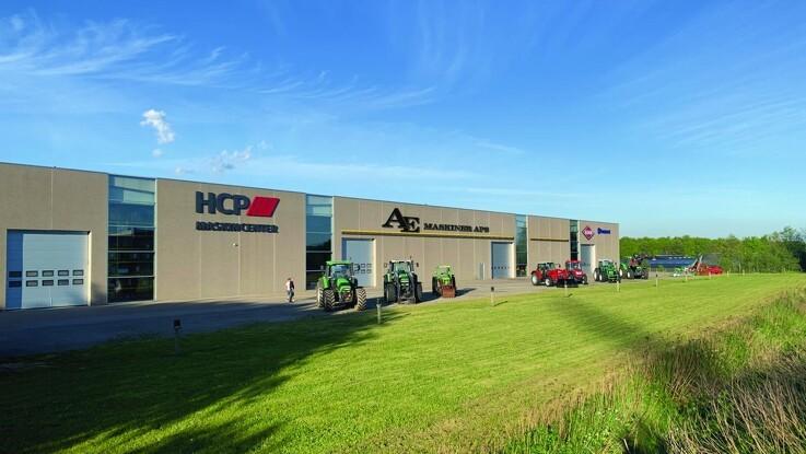 AE Maskiner flytter ind hos HCP Maskincenter