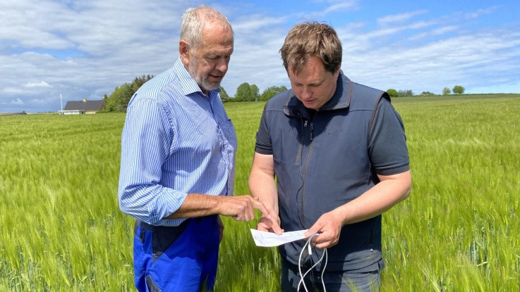 Landboforening er klar med et online bedriftsbesøg
