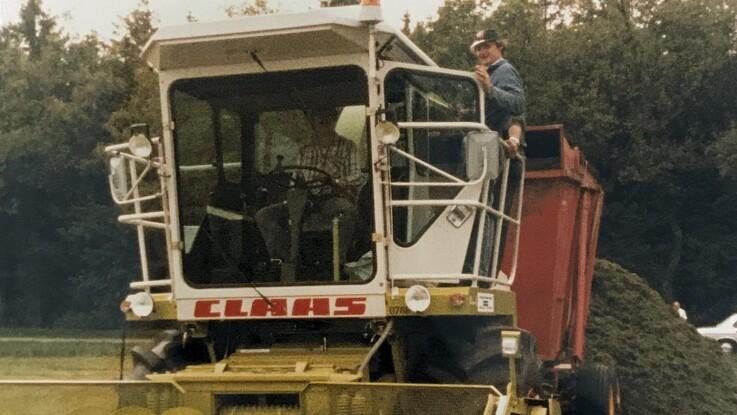 35 år med Jaguar på danske maskinstationer